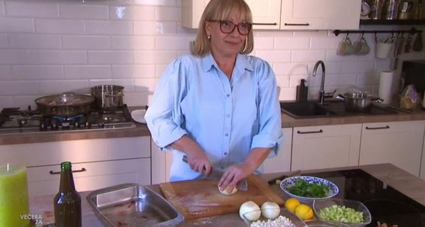 Marica će danas bez straha pojesti sve na tanjuru jer ona kuha 'Večeru za 5 na selu'