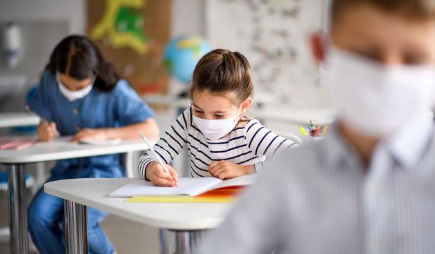 djeca maske škola