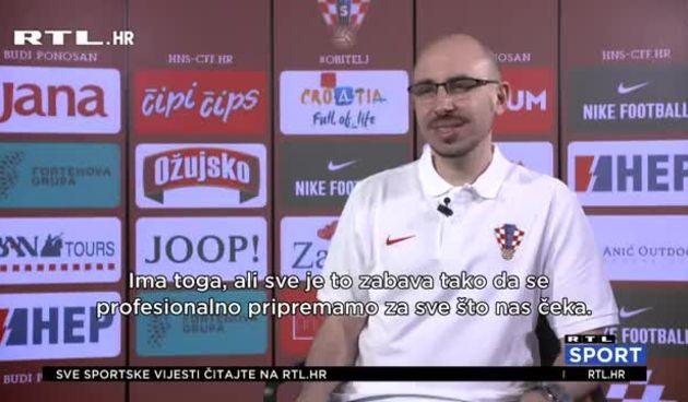 Škot u hrvatskom stručnom stožeru: 'Potpuno sam fokusiran na hrvatsku pobjedu' (thumbnail)
