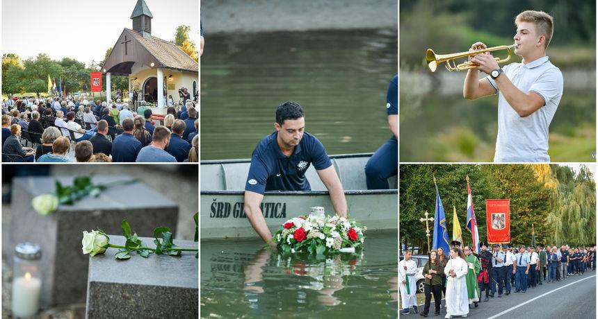 FOTO U Prelogu obilježena godišnjica tragedije na Dravi: Prije 68 godina utopilo se 14 ljudi