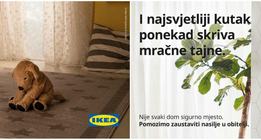 IKEA Hrvatska pokreće kampanju protiv obiteljskog nasilja 'Siguran dom je bolji dom'