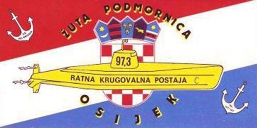 Skidamo prašinu: Legendarna osječka ratna radio postaja ''Žuta podmornica''