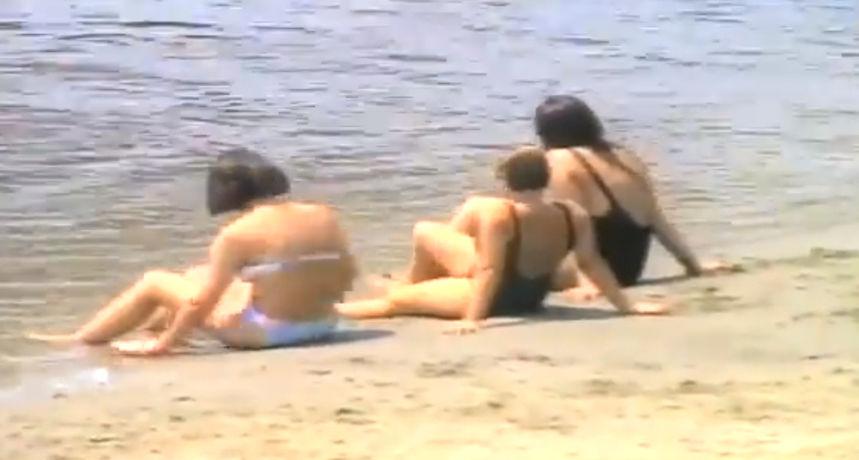 Skidamo prašinu: Osječani na kupanju kod Želje 1993. godine