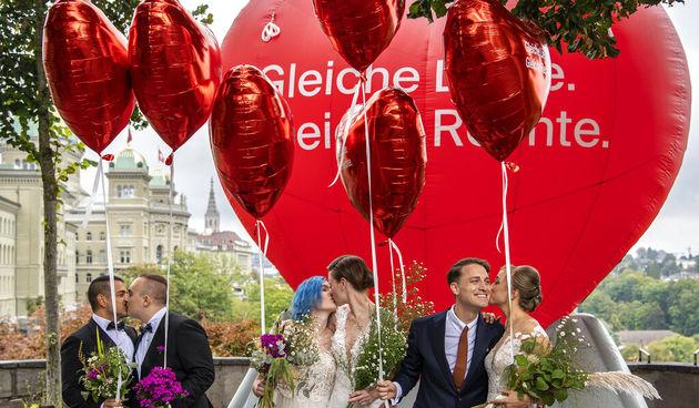 Švicarska, referendum o braku za sve