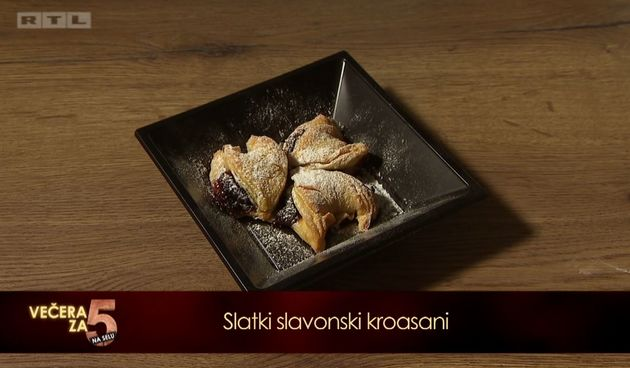 Recept za 5: Slatki slavonski kroasani