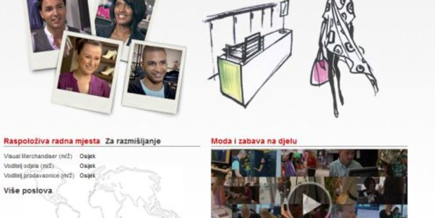 POSAO: H&M nudi posao u TC Portanova