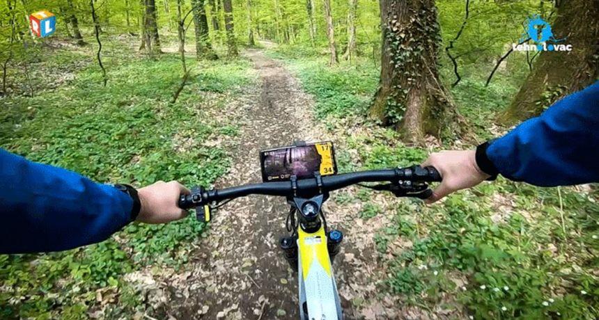 Tehnolovac odveo gledatelje na adrenalinsku vožnju novim hi-tech biciklom Greyp G6.3