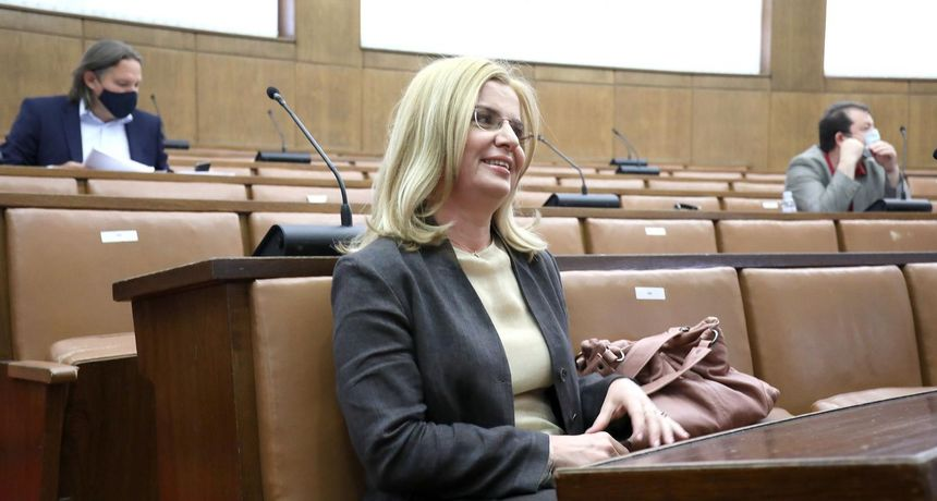Zlata Đurđević demantira da je pitanja Karoline Vidović Krišto ocijenila političkim