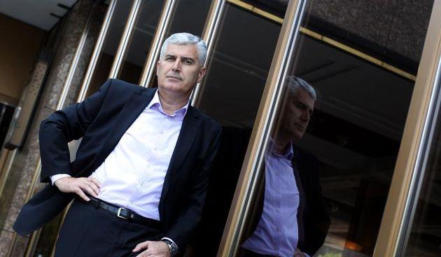 Zagreb - Dragan Covic, predsjednik HDZ-a BiH. Photo: Boris Scitar/Vecernji list/PIXSELL