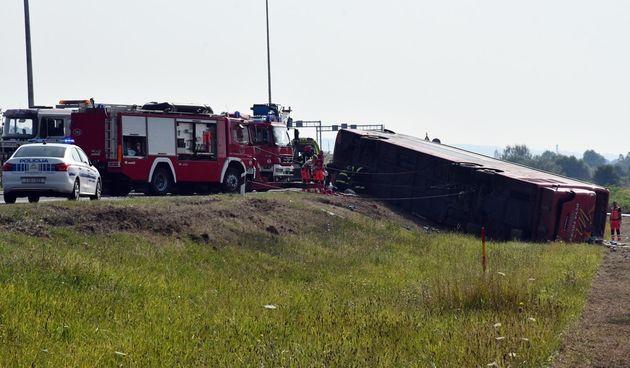 nesreća, slavonski brod, autobus