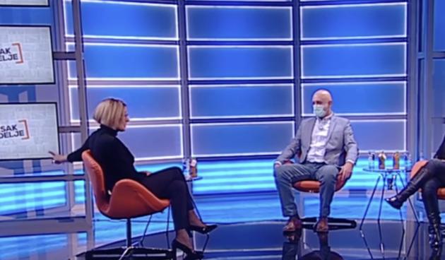 """""""Pa i ja sam mačka"""": Srpska voditeljica brutalno spustila gostu koji se požalio na nenošenje maske"""