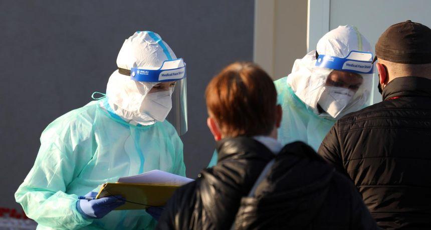 U posljednja 24 sata su zabilježena 1.565 novih slučajeva zaraze, u bolnicama je ukupno 2.105 osoba
