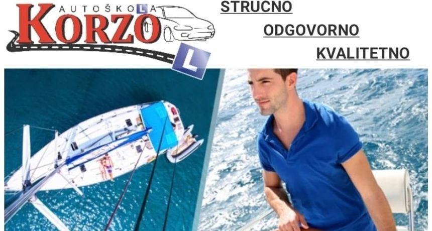 Želite naučiti voziti brodicu i dobiti dozvolu B kategorije - u Auto školi Korzo počinje novi tečaj, prijavite se!