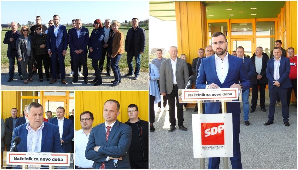PREDSTAVLJEN NIKOLA NOVAK SDP u Nedelišću okupio široku koaliciju