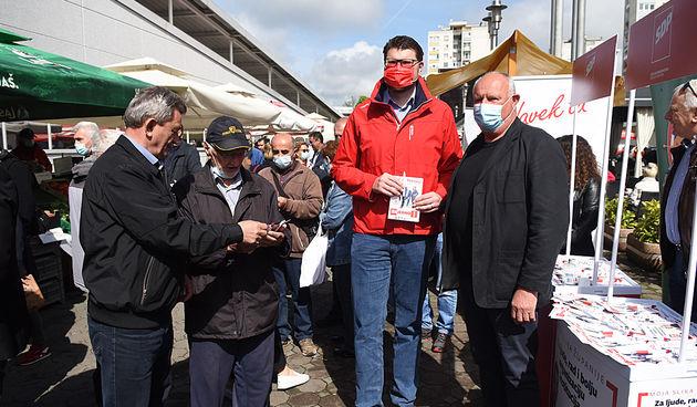 Peđa Grbin podržao SDP-ove kandidate: Karlovac i Karlovačka županija spremni su za promjene, a naši kandidati spremni ih napraviti