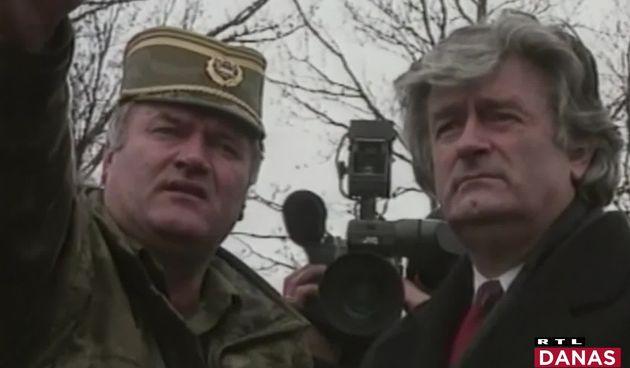 Ratko Mladić, Radovan Karadžić