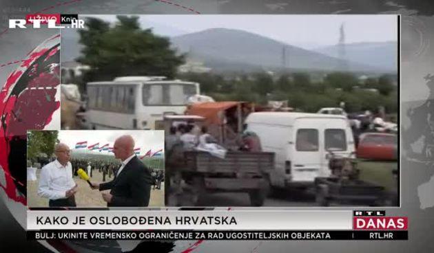 Krstičević uoči Oluje: 'Ova vojska nastala je u ratu, iz naroda. Rata nadam se više neće biti. Vojska je zato tu da pomaže narodu' (thumbnail)