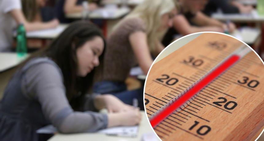 Zbog vrućine na pisanju mature pozlilo učenici u Varaždinu, u bolnici provela pet sati
