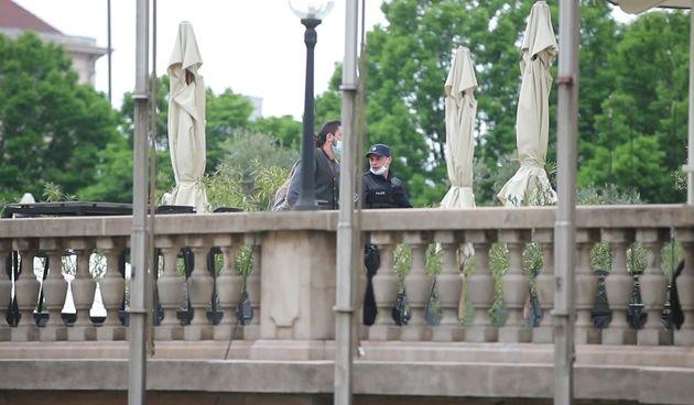 Atraktivni kadrovi za TV seriju Agent Hamilton snimljeni su na balkonu hotela Esplanade (thumbnail)