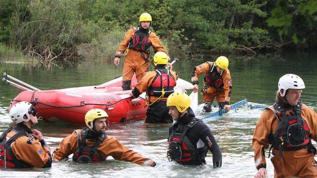 Mrežnica, HGSS, Akcija spašavanja