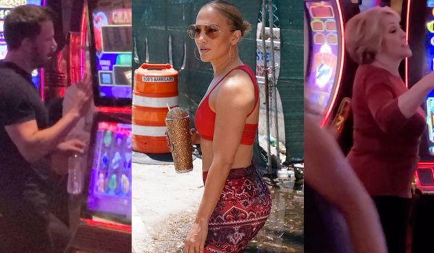 Jennifer Lopez, Guadalupe Lopez, Ben Affleck