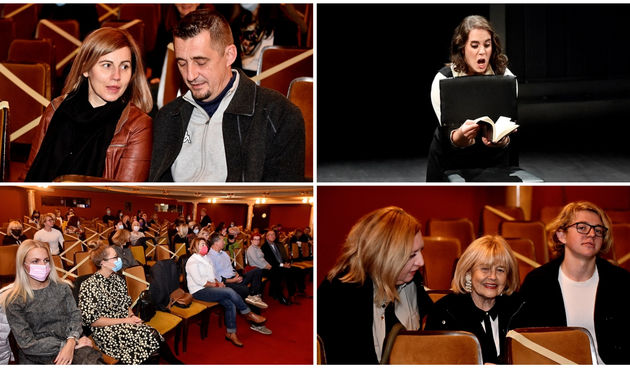 FOTO Reprizom monoopere 'Dnevnik Anne Frank' otvorena nova sezona u HNK