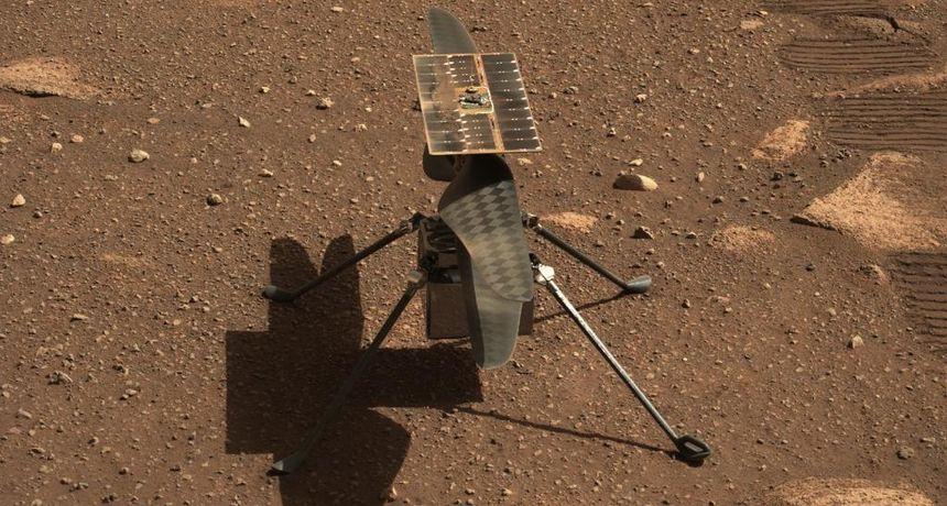 NASA je odgodila prvi let minijaturnog helikoptera Ingenuity na Marsu