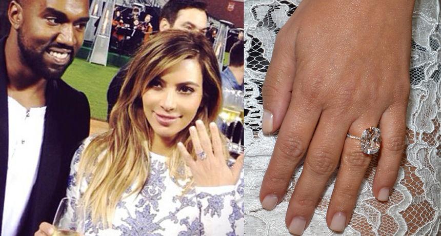 Sjećamo se prstena od 20 milijuna kuna: Kanye potrošio bogatsvo na Kimin nakit, a sada sve to želi prodati