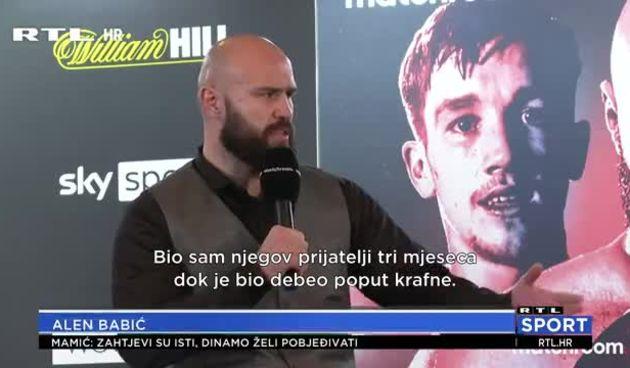 Babić Littleu: 'O tebi sam govorio samo lijepe stvari, a sada si izabrao Hrgovićevu stranu, prodao si se' (thumbnail)