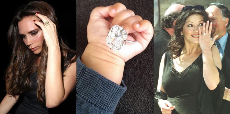 Gigantski zaručnički prsteni