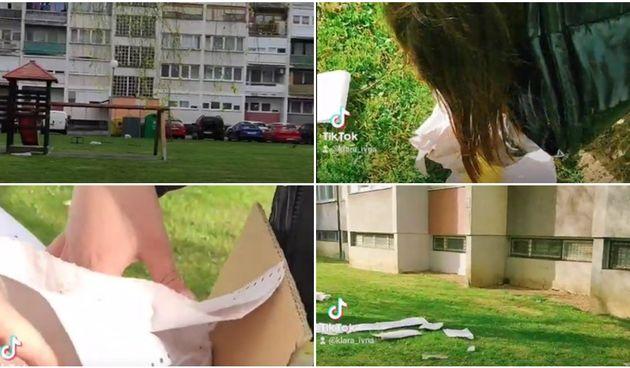 Ponos V. osnovne škole: Učenice čistile igralište na Banfici koje je bilo prepuno razbacanog smeća