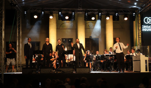 4 tenora i Centar tradicijske kulture Varaždin, Špancirfest 2019