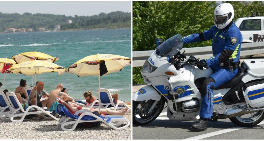 'Prošle godine u više od 19.000 kaznenih djela sudjelovalo je 2200 turista' Policija je spremna za sezonu