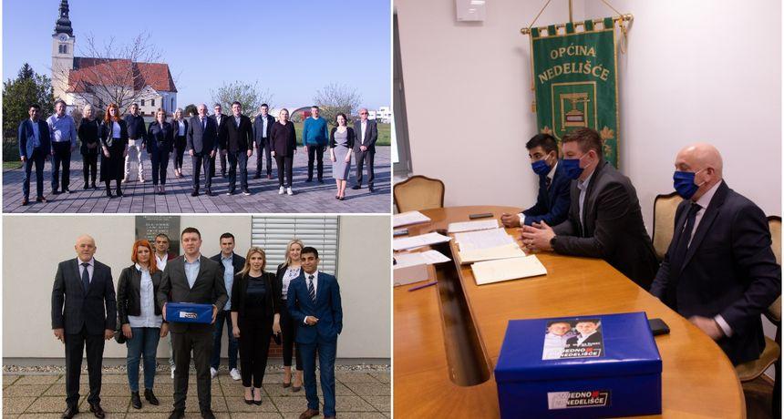 Članovi HDZ-a Općine Nedelišće predali kandidature za nadolazeće lokalne izbore