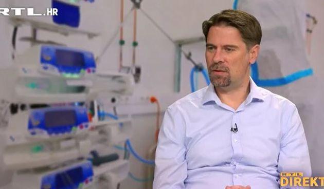 Infektolog Kutleša za RTL Direkt: 'Neki put ljudi kažu sami da im je sad žao što se nisu cijepili, no ima i tvrdoglavih'