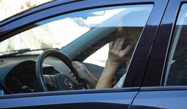 Mobitel u vožnji