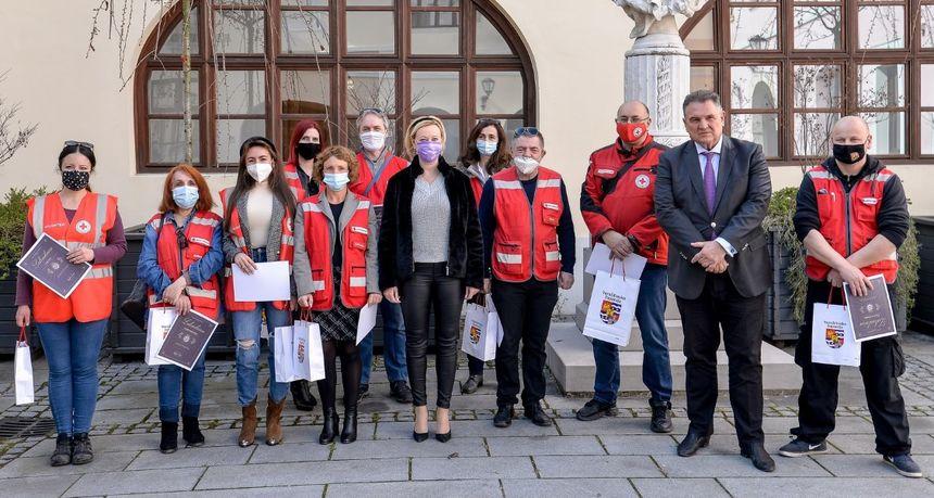 Priznanje i zahvala župana Čačića volonterima koji su svoju humanost i nesebičnost pokazali prilikom potresa u Petrinji