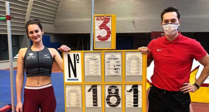 Osječki atletičari i dalje briljiraju, postavili su treći rezultat u svijetu!