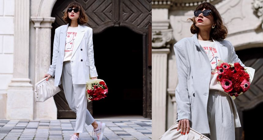 Ana Bacinger izabrala je divne komade za poslovni trendi look