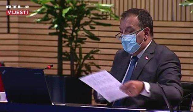 Ministar Beroš o epidemiološkoj situaciji: 'Kontinuirani broj zaraženih poziva nas na oprez' (thumbnail)