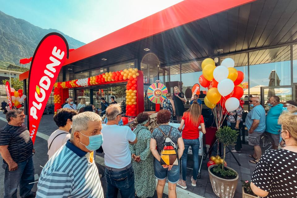 Otvorenje 100. supermarketa u Makarskoj