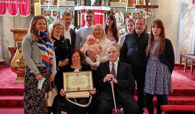 70 GODINA LJUBAVI Mijo i Veronika iz Donjeg Koncovčaka proslavili 70. obljetnicu braka