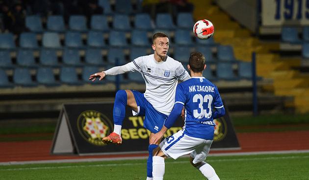 Nogomet: Karlovac 1919 - Zagorec Krapina 9. listopada 2021.