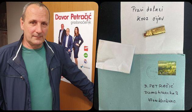 Strašno! Kandidat za gradonačelnika Karlovca Davor Petračić primio prijetnju smrću - poziva policiju da hitno pronađe počinitelje