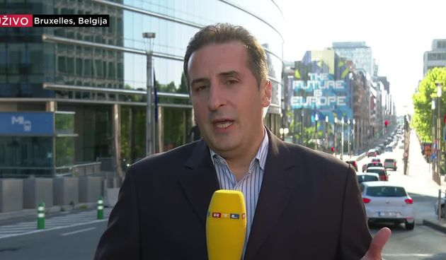 Šarić u Bruxellesu