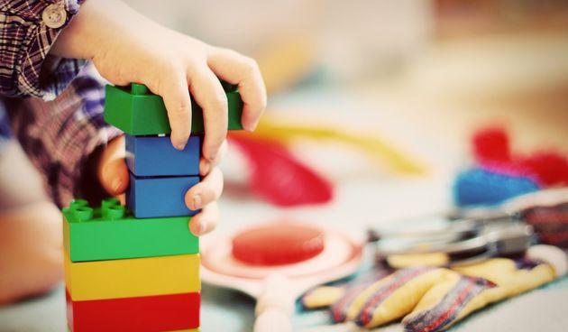 igračke, dijete, igra