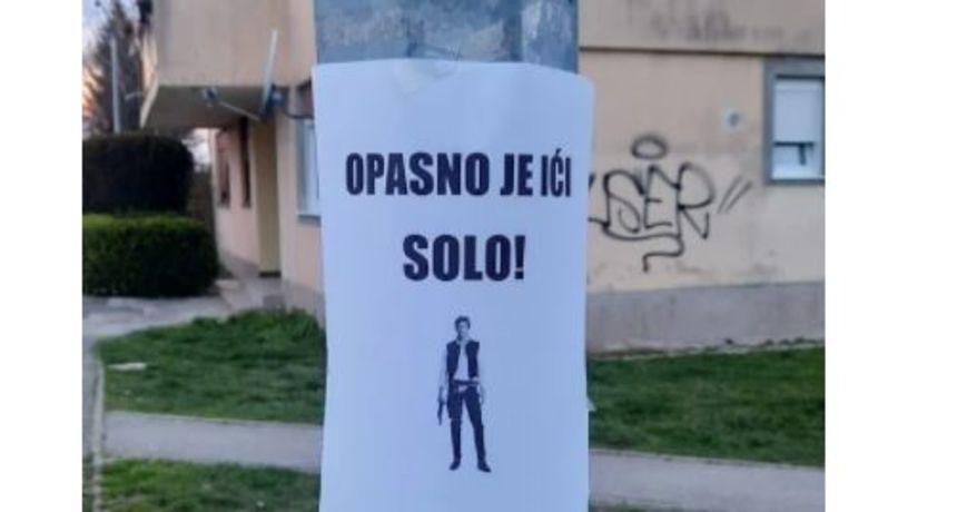 'Opasno je ići Solo': Oglas koji vam nudi pratnju u obliku fiktivnog lika iz Star Warsa oduševio je mnoge