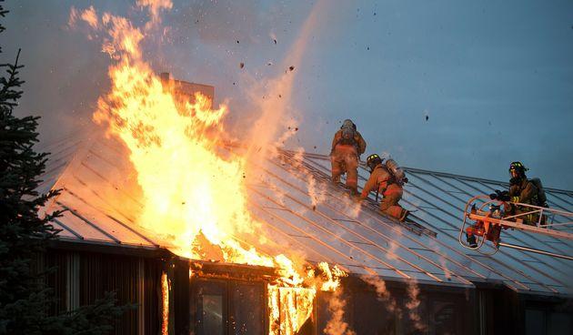 kuća vatra