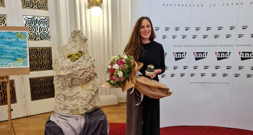 RTL-ova novinarka Ana Trcol dobitnica nagrade 'Velebitska degenija' za najbolje novinarske radove o zaštiti okoliša