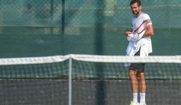Marin Čilić i Borna Ćorić pripremaju se na Višnjiku za teniske turnire u SAD-u